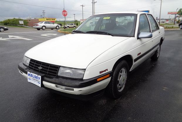 The Chevrolet Corsica Made It Bearable to Work for a Rental Car Company featured image large