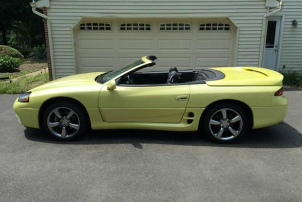 Autotrader Find: Bright Yellow Mitsubishi 3000GT VR-4 Spyder featured image large thumb0