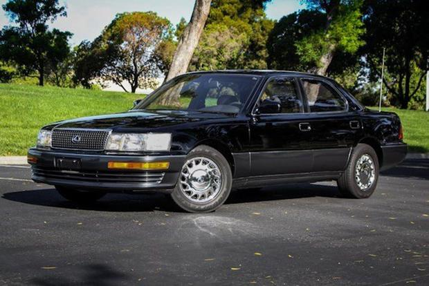 autotrader find pristine 1990 lexus ls 400 autotrader. Black Bedroom Furniture Sets. Home Design Ideas