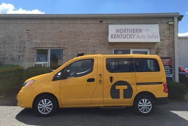 Autotrader Find Low Mileage Nissan Nv200 New York City Taxi