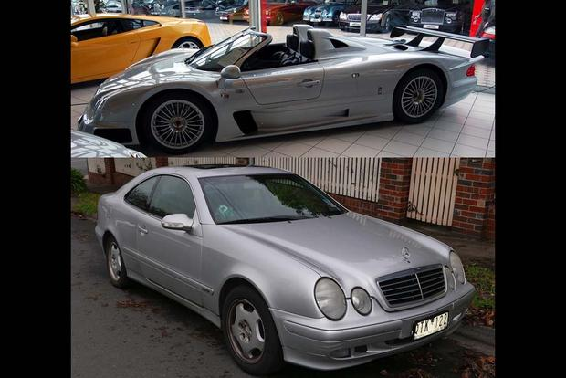 The Mercedes Benz Clk Model Range Is Hilarious Autotrader