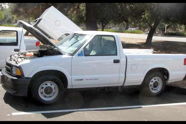 The S 10 Ev Chevy Rare Electric Pickup Truck