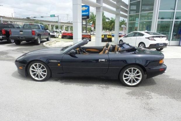 Beautiful This Is The Cheapest Aston Martin On Autotrader    At $23,900 Featured  Image Large Thumb0