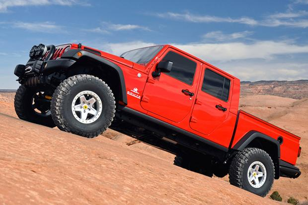 You Can Buy a Jeep Wrangler Pickup Right Now -- for $100,000 featured image large thumb0