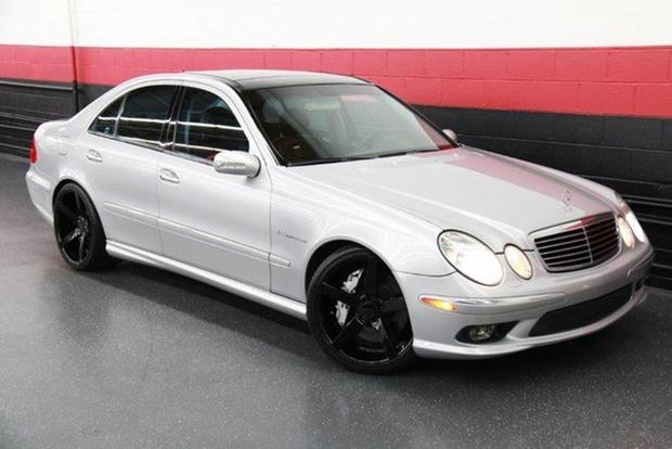 Autotrader Find: 2003 Mercedes-Benz E55 AMG With 401,000 Miles featured image large thumb0