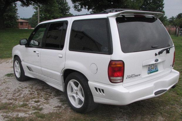The Saleen Ford Explorer Was an Early Attempt at a High