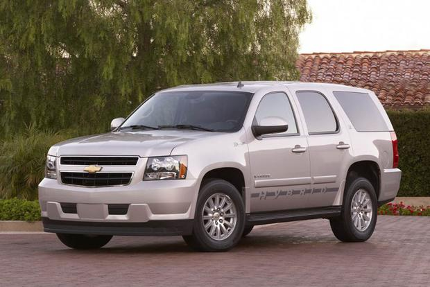 The Chevy Tahoe Hybrid Great Idea But Not Good Enough