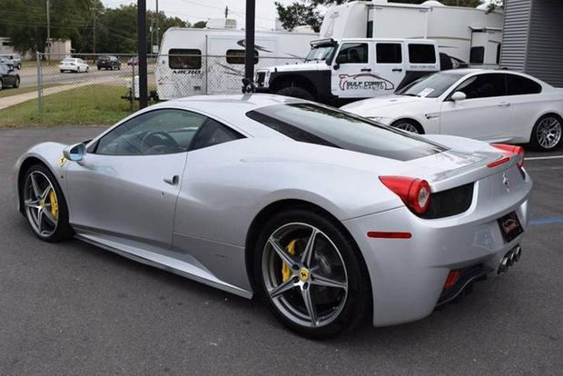 The Cheapest Ferrari 458 on Autotrader Is $135,000 -- and It Has 61,000 Miles featured image large thumb0