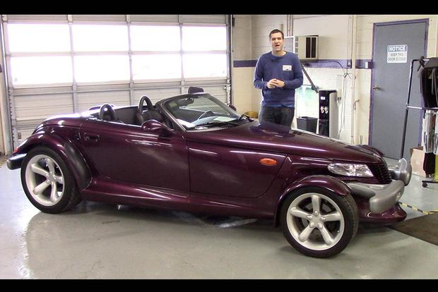 here s why the plymouth prowler is the strangest 1990s car autotrader rh autotrader com