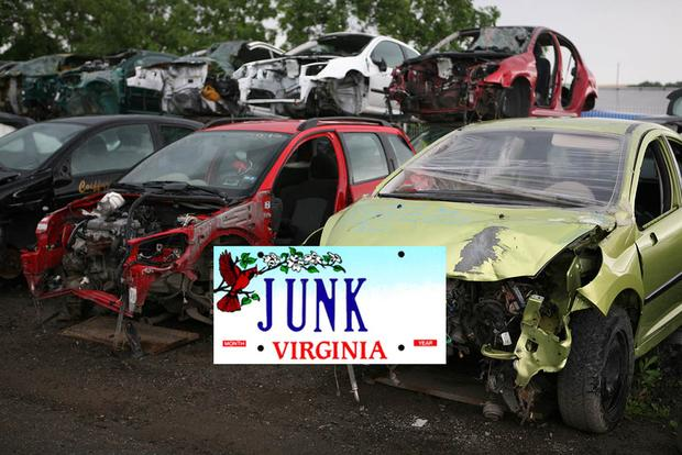 "Here Are the Cars With the Vanity License Plate ""JUNK"" Across the Country featured image large thumb0"