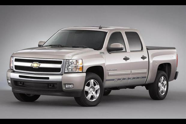The Chevy Silverado Hybrid Gm S First Try
