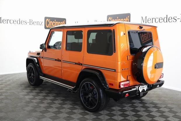 Autotrader Find: Bright Orange V12-Powered Mercedes-Benz G-Wagen featured image large thumb0