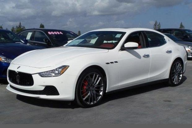 You Can Already Get a Used Maserati Ghibli on Autotrader for Less ...