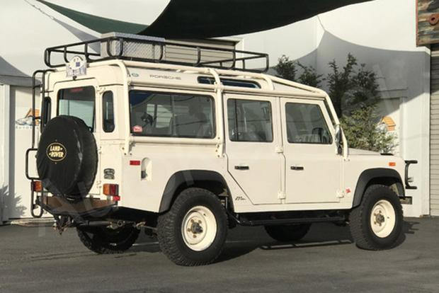 Autotrader Find: Race Car Driver Jeff Zwart's Land Rover Defender 110 featured image large thumb0