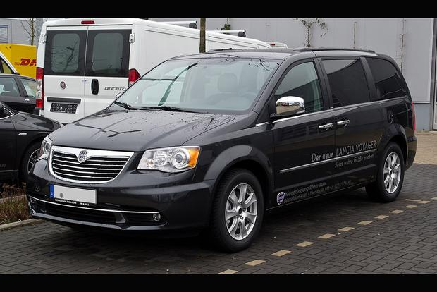 the dodge grand caravan is a lancia in europe autotrader. Black Bedroom Furniture Sets. Home Design Ideas