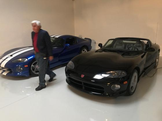 Jay Leno Has a Blue and White Dodge Viper GTS, Just Like Me featured image large thumb0