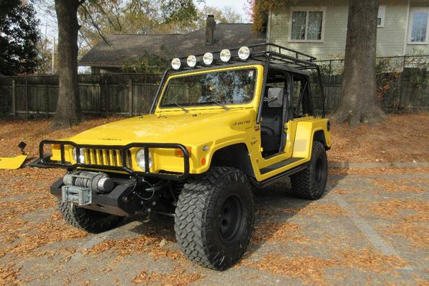 The Jeep Landrunner Is a Wrangler That Looks Like a Hummer featured image large thumb0