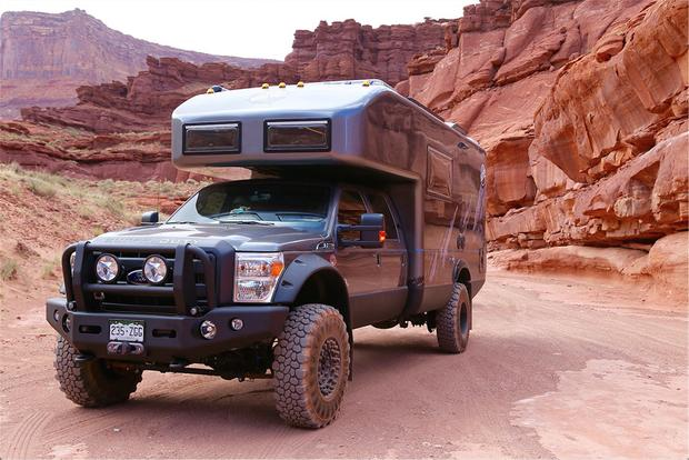 EarthRoamer Makes Amazing RVs out of Ford Super Duty Pickups featured image large thumb0
