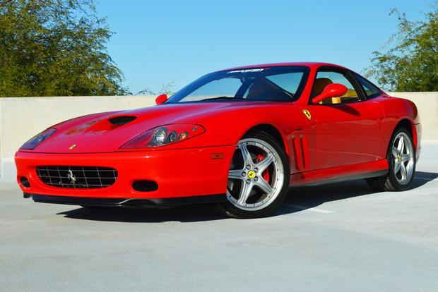 Why Is The Manual Transmission Ferrari 575m So Expensive Autotrader