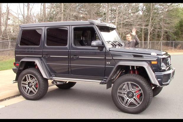 The Mercedes G550 4x4 Squared Is a $250,000 German Monster ...