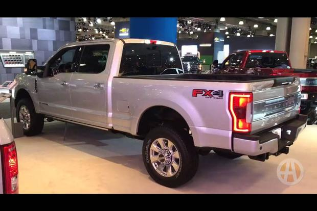 Ford F-350 Super Duty Platinum: New York Auto Show - Video featured image large thumb1