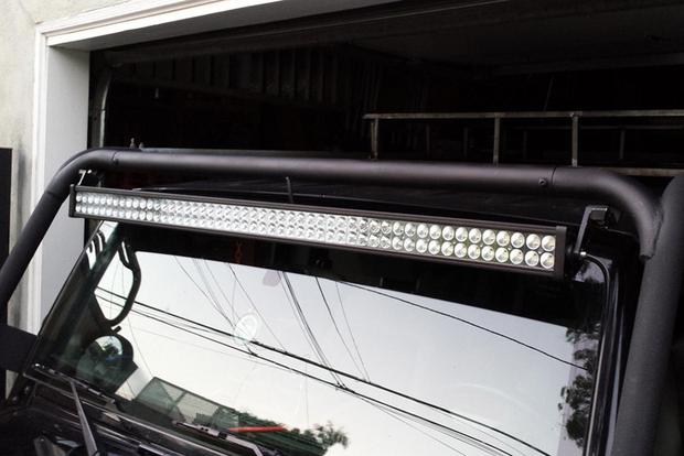 So We're All OK With Those Giant LED Light Bars? - Autotrader