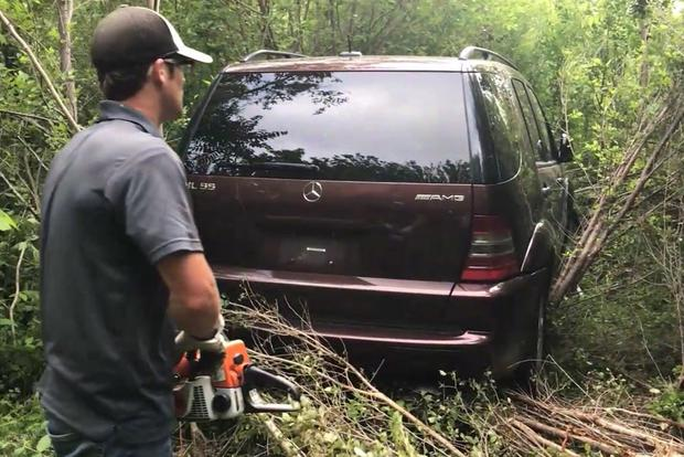 I Needed a Chainsaw to Extract My Stolen Mercedes ML55 AMG featured image large thumb1