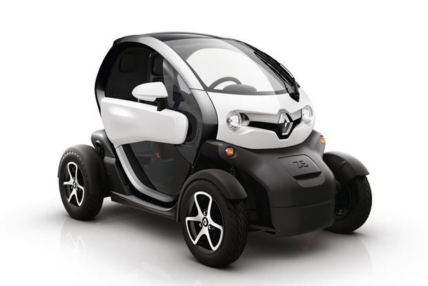 The Renault Twizy Is An Actual Really Absurd Car