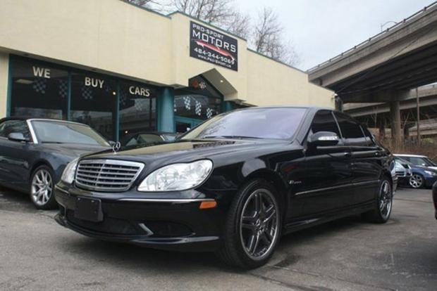 This 604 Horsepower V12 Powered Mercedes S65 Amg Is On Autotrader