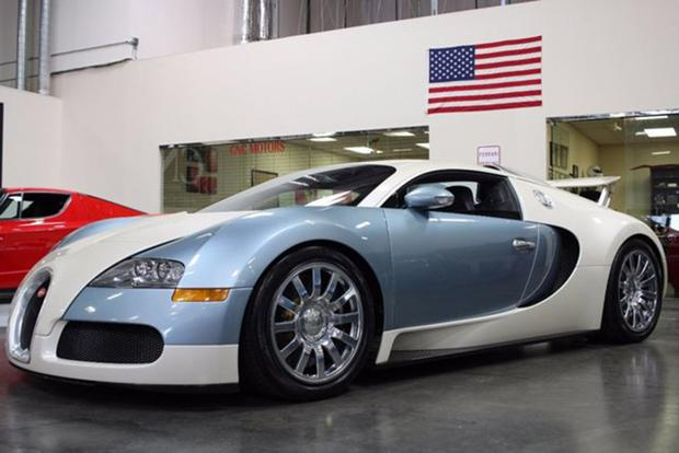 There's a Bugatti Veyron on Autotrader for $1.1 Million featured image large thumb0