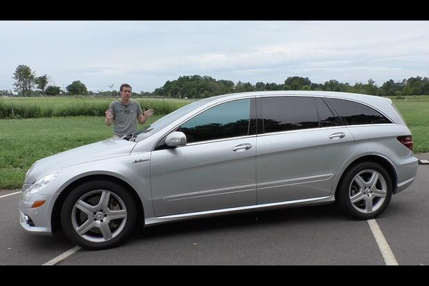 Mercedes Benz Minivan >> The Mercedes Benz R63 Amg Is A 500 Horsepower Minivan Autotrader