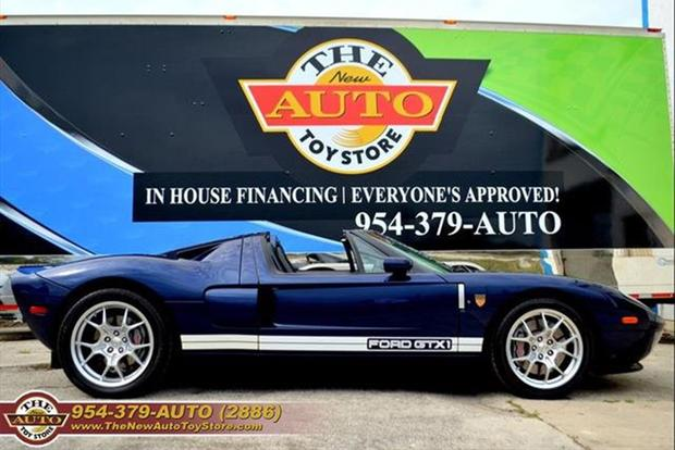 Autotrader Find: Targa-Topped 2006 Ford GT featured image large thumb0