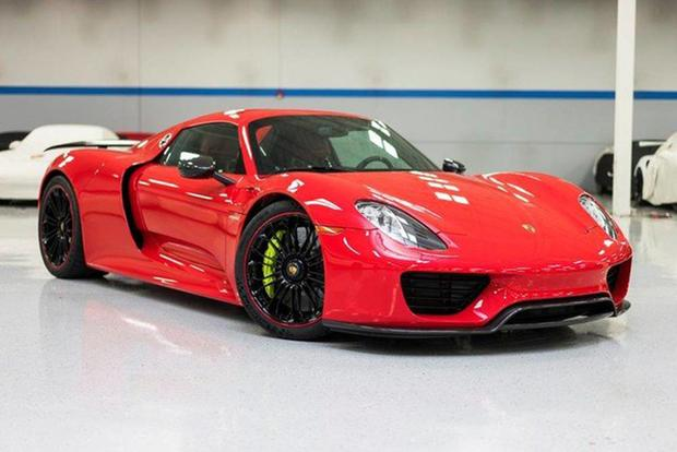 autotrader find porsche 918 spyder with just 31 miles autotrader. Black Bedroom Furniture Sets. Home Design Ideas