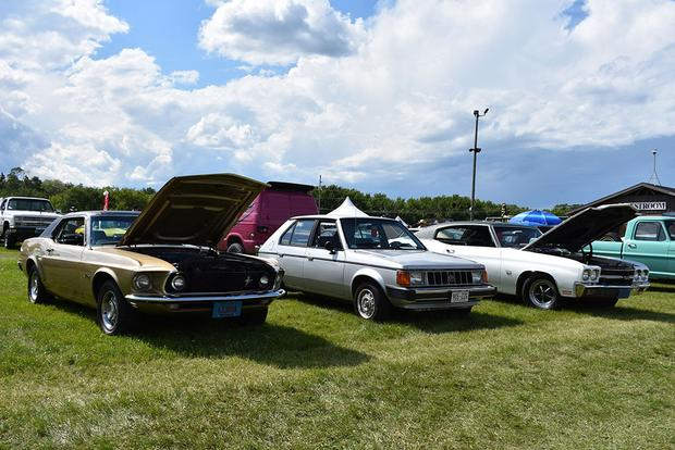 My Plymouth Horizon Got A Lot Of Attention At The Iola Car Show - Iola car show