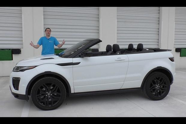Land Rover Range Rover 2017 Interior >> I Can't Believe the Range Rover Evoque Convertible Costs $70,000 - Autotrader