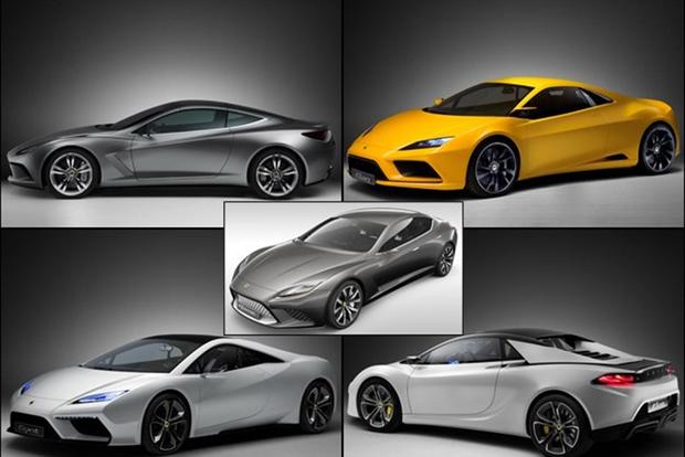 Remember When Lotus Debuted Six Concepts at the 2010 Paris Autoshow ...