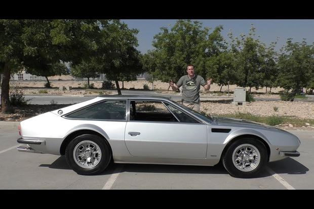 Video The Lamborghini Jarama Is Ugly Weird And Ultra Rare