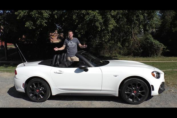 Video The Fiat 124 Spider Abarth Isn T A Better Mazda Miata