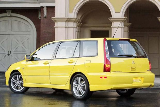 The 2004 Mitsubishi Lancer Sportback Ralliart Was Mitsubishiu0027s Forgotten  Sporty Wagon Featured Image Large Thumb0