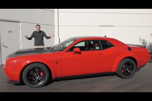 Video The 2018 Dodge Demon Is An Insane 100 000 840 Horse Factory Drag Racer
