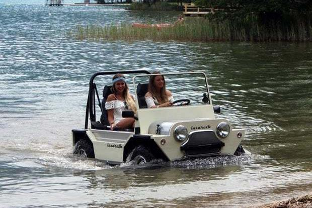 Meet the Lazareth Amphibian, an Amphibious Mini Moke Made in France featured image large thumb0