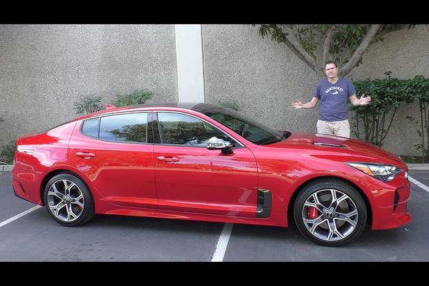 Video Here S Why The 2018 Kia Stinger Gt Is Worth 50 000 Autotrader