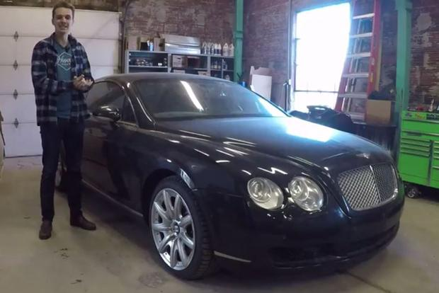 Video I Ve Given Up On Ever Fixing My 2004 Bentley Continental Gt