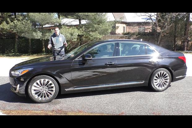 Video The Genesis G90 Is A 75 000 Hyundai Luxury Sedan Autotrader