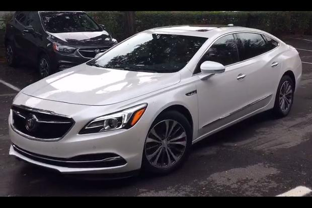 2017 Buick Lacrosse First Drive Review Video Autotrader