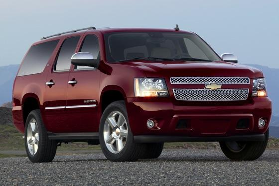2012 Chevrolet Suburban: New Car Review featured image large thumb0