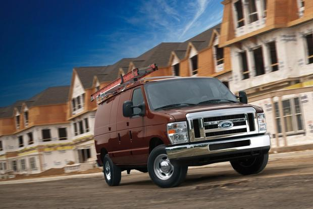 2014 Ford E-Series Van: Overview featured image large thumb0