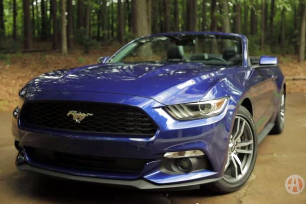 2015 Ford Mustang EcoBoost Convertible: Real World Review - Video featured image large thumb1