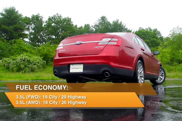 2013 Ford Taurus: New Car Review - Video featured image large thumb1