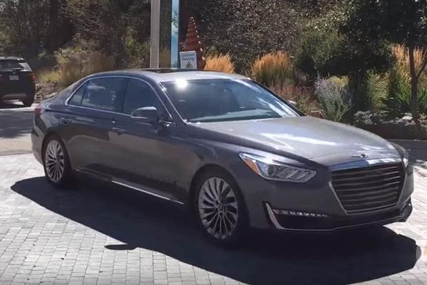 2017 Genesis G90: First Drive Review - Video featured image large thumb1